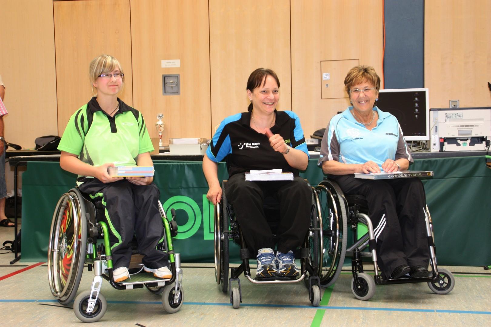 v.L: Sandra Mikolaschek, Sabine Gottschalk, Gudrun Högemann