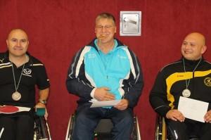 Sieger C-Klasse v.l.n.r.: Christian Sieber, Albert Solbach, David Kail.  Bild: Achim Palm