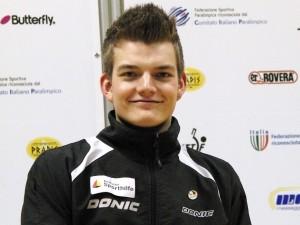 Gute Aussichten: Nr. 1 der Weltrangliste, Thomas Schmidberger
