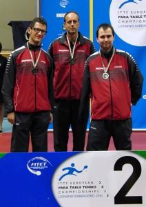 Vize-Europameister im Team WK 6.